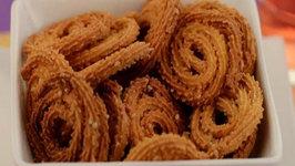 Baked Chaklis (Low Calorie) by Tarla Dalal