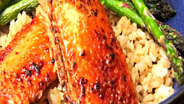 Miso Maple Glazed Salmon Rice Bowl