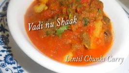 Lentil Chunks Curry