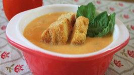 Basil and Tomato Soup