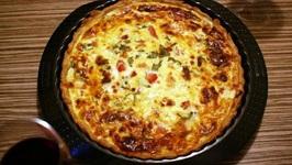 Tomato Artichoke Quiche