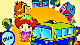 Wheels on the Bus - Song for Kids