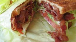 Avocado Bacon Sandwich