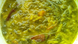Greens Dal Curry