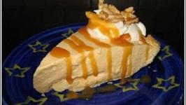 Peanut Brittle Ice Cream Pie