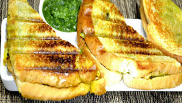 Masala Sandwich - Using Tawa and Sandwich Maker
