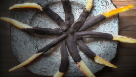 Chocolate Candied Orange Peel