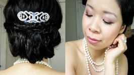 Twilight Breaking Dawn - Bella's Inspired Wedding Hair and Makeup Tutorial