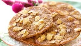 Almond Brickle Sugar Cookies