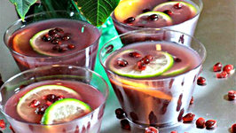 Pomegranate Moscato Punch