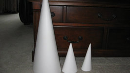 How to Make a Really Big Cone! Craft Tutorial