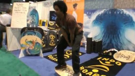 Indo Boarding with You Lee Rodriguez at IHRSA 2010