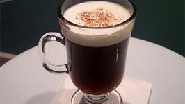 Chilled Irish Coffee Nog