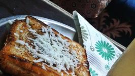 Veggie Toasted Sandwich