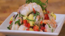 Pineapple and Shrimp Ceviche