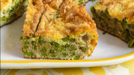 Herb and Romaine Lettuce Frittata