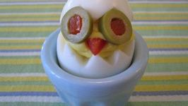 Cooking for Kids - Deviled Egg Chicks