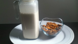 Almond milk -How to make Almond Milk
