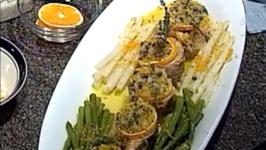 Tuscany Stuffed Salmon Rolls