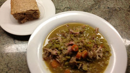 Split Pea Soup with Smoked Turkey