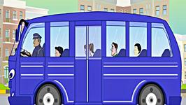 Wheels on the Bus  Nursery Rhyme with Lyrics