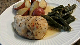 Chicken, Potato and Green Bake