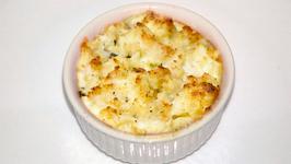 Dilly Cauliflower Au Gratin