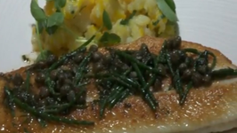 Black Sole and New Irish Potatoes by Good Food Ireland