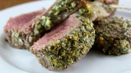 Rack Of Lamb With Tarragon Herb Rub