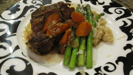 Beer Braised Beef with Rosemary-Scented Gnocchi