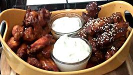 Chicken Wings 2 Ways - How to do Wings With 2 Different Style of Sauces