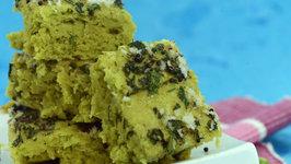 Green Peas Dhokla by Tarla Dalal
