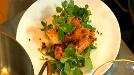Chef Patrick Feury-Spicy Maldon Sea Salt Crusted Prawn