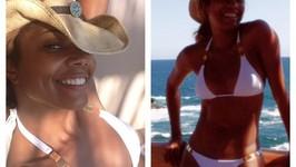 Gabrielle Unions Sexy Bikini Body At 40!