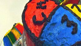 Betty's Rainbow Birthday Cake Frosting