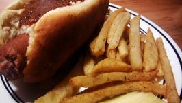 Crispy Basil French Fries