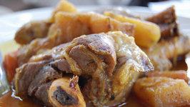 Braised Lamb Shanks With Buttermilk Gravy