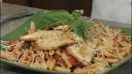Chicken Puttanesca and Pasta