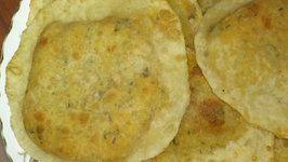Homemade Masala Puri