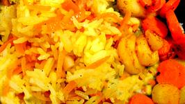 Valencia Rice and Carrots