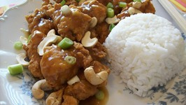 Fried Chicken and Cashew
