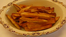 Deep-Fried Crispy French Fries
