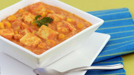 Paneer Corn Korma (Protein Rich) by Tarla Dalal