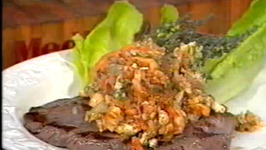Flattened Steak with Seafood Sauce- Cooking Made Simple by Belucci