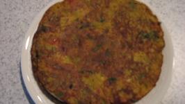 Kheere ka chila (cucumber pancakes)
