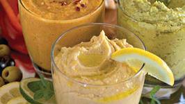 Hummus with an Indian Twist
