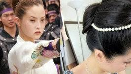 Devon Aoki as Japanese Ninja Princess Katsume Hair Tutorial