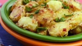 Italian Style Baby Potatoes by Tarla Dalal