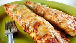 Bean And Tamari Enchiladas