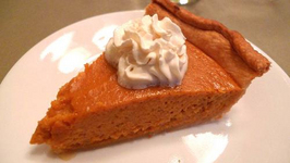 Tawny Pumpkin Pie